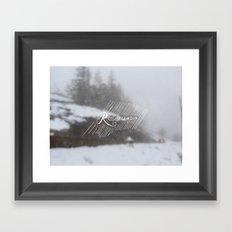 Resolute Framed Art Print