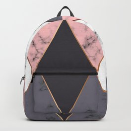 Marble Geometry 018 Backpack