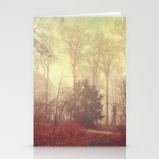 the way out Stationery Cards