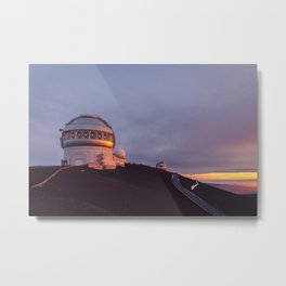 Illuminated Telescopes Metal Print