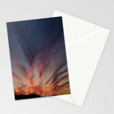 Bleeding sky Stationery Cards
