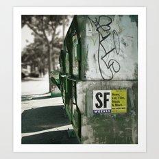San Francisco Weekly Art Print