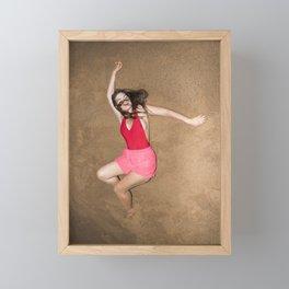 Sandstorm Framed Mini Art Print