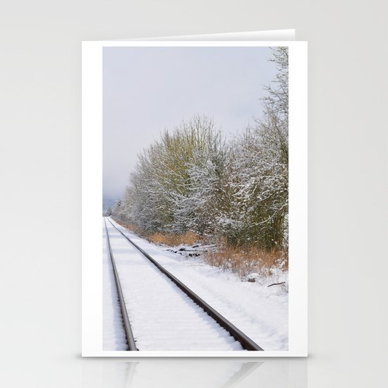 Remnants of a Simpler Time - The Tracks Stationery Cards