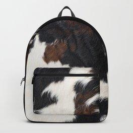 Cowhide Farmhouse Decor Backpack