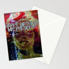 Happy birthday Mr.President  Stationery Cards