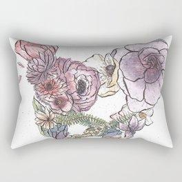 Pelvic Flora (Color) Rectangular Pillow