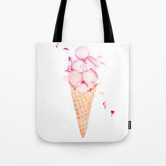 Macaroons Ice Cream Tote Bag
