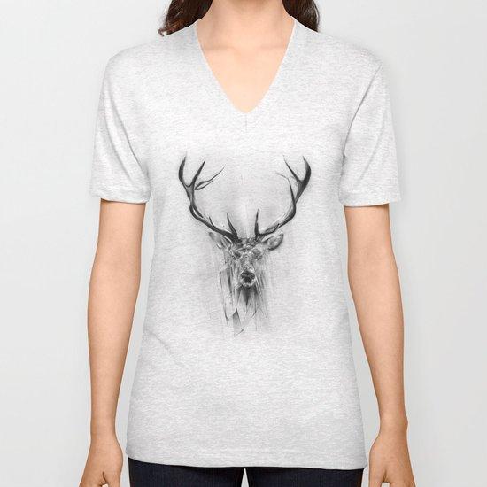 Red Deer Unisex V-Neck