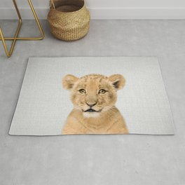 Baby Lion - Colorful Rug