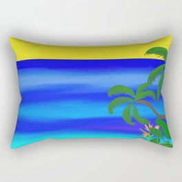 Beach Vibes Rectangular Pillow