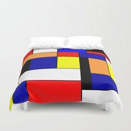 Mondrian #1 Duvet Cover