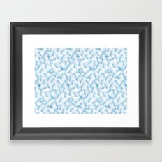 Frozen Palms Framed Art Print