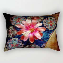 Cactus Flower By Design Rectangular Pillow