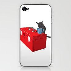 Chat Noir Beverage Tipper iPhone & iPod Skin