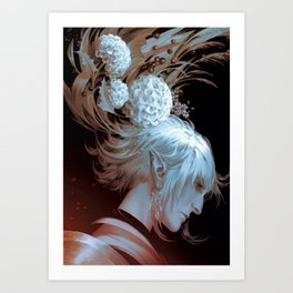 Haucherfant, Confidence in Heaven Art Print