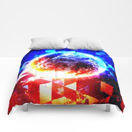 DRONED WORLD Comforters