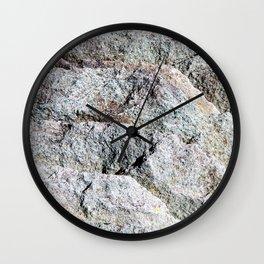 Gray Slate Wall Clock