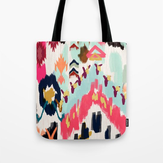 Bohemian Tribal Painting Tote Bag