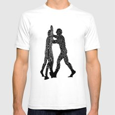 Molecule Man Mens Fitted Tee White SMALL
