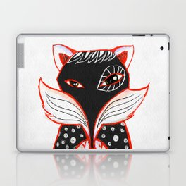 Kaleidoscope Fox Laptop & iPad Skin