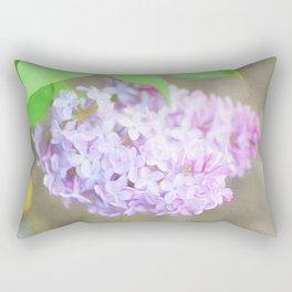 Lilac Bush Rectangular Pillow