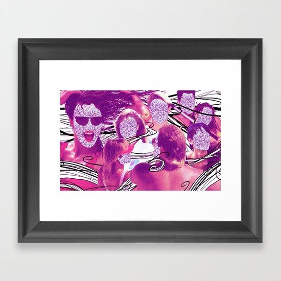 """""""Hair"""" by Cap Blackard Framed Art Print"""