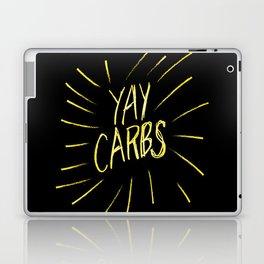 yay carbs Laptop & iPad Skin