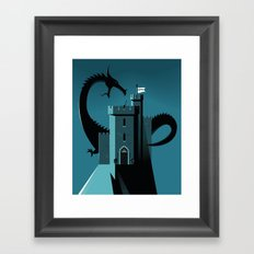 Cyber Security Framed Art Print