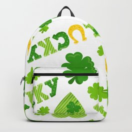 St. Patrick's Day EXTRA IRISH LUCK! Backpack