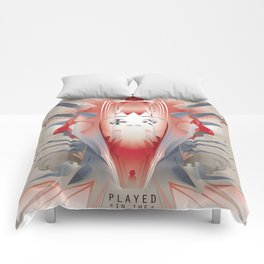 PLAYED inthe USA 2013 Comforters