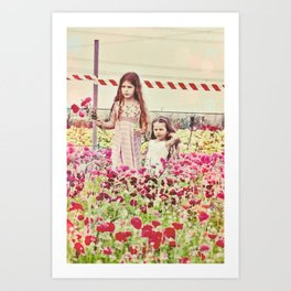 """If You Look The Right Way, You Can See That The Whole World Is A Garden"" Art Print"