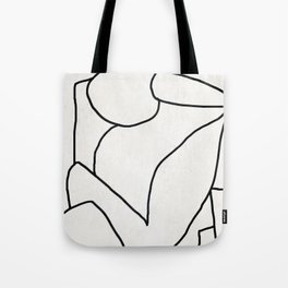 Abstract line art 2 Tote Bag