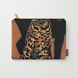 Vintage Munich Zoo Leopard 1912 Advertisement Carry-All Pouch