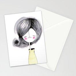 _ menina _ Stationery Cards