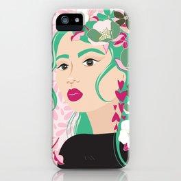 Floral & Feminine - Determined iPhone Case
