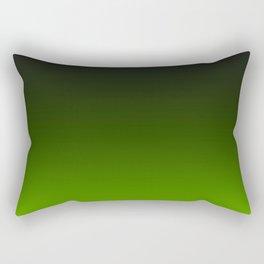 Ombre Lemon Green Rectangular Pillow