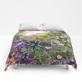 A Florist's Ceiling Garden Comforters