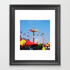 County Fair Framed Art Print