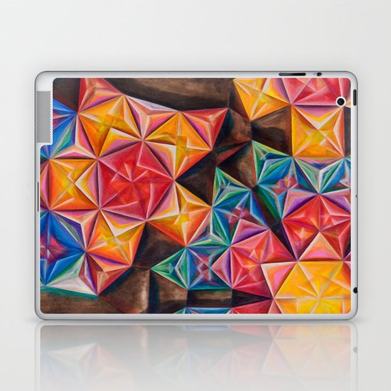 Shape Emanation Laptop & iPad Skin