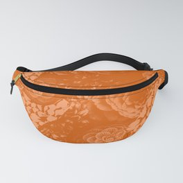 Moody Florals in Orange Fanny Pack