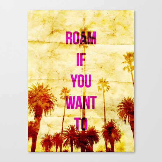 Roam Canvas Print