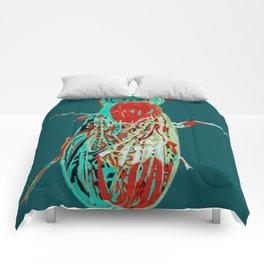 Fruit Fly 2 Comforters