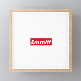 Emmitt Framed Mini Art Print