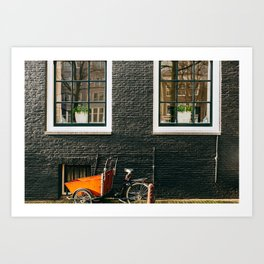 Nieuwmarkt - Amsterdam, The Netherlands - #13 Art Print