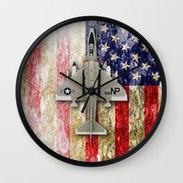 Douglas A-4F Skyhawk Wall Clock