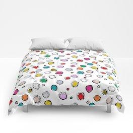 wilderdot white Comforters