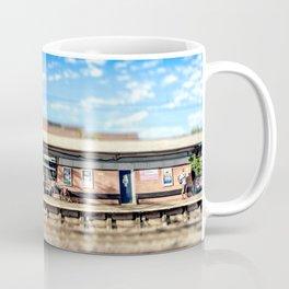 Miniature People at the Station Coffee Mug