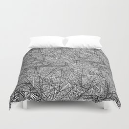 Pattern psychedelia Duvet Cover