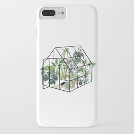 greenhouse with plants iPhone Case